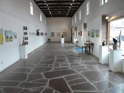 Galleri Stenhallen, Borgholm 2009