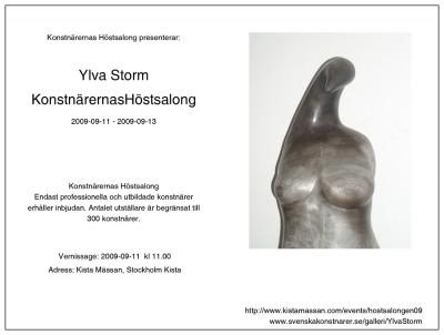 01-2009-vernissagekort-konstnarernas-hostsalong